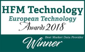 Winner European Technology awards 2018 - Portara