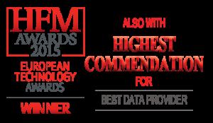 Winner European Technology awards 2015 - Portara